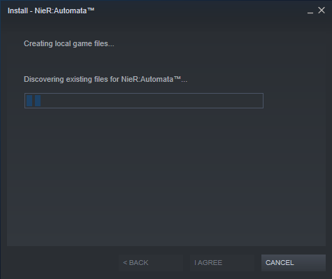 Steam Discovering Files